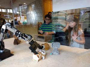 Lafayette Maker Faire Interactive Robot