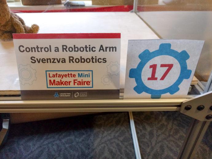 Svenzva Robotics at Lafayette Maker Faire